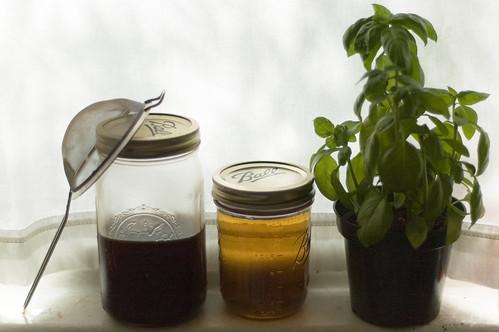ingredients + basil (by bookgrl)
