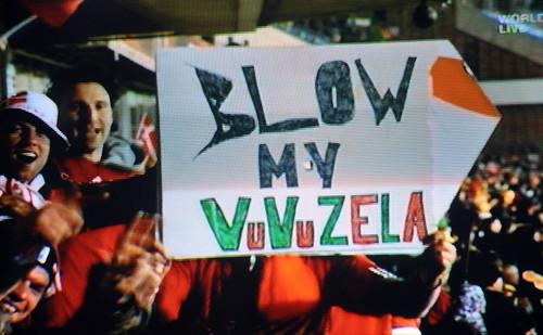 Blow my Vuvuzela