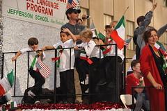 COLUMBUS DAY PARADE  2010   /   Italian-Americ...
