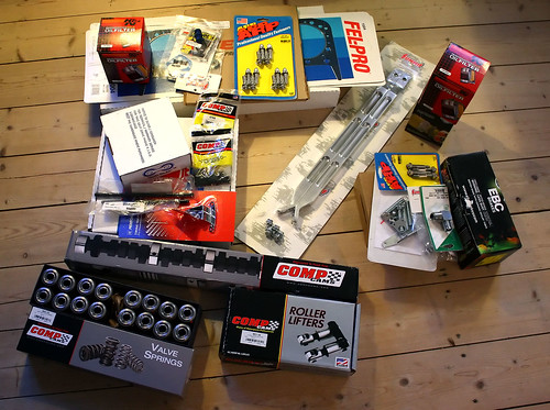 New Parts - Camshaft, etc.