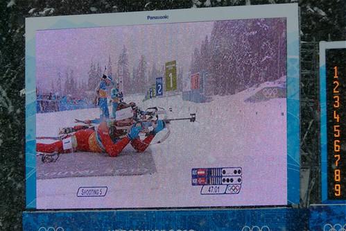 biathlon jumbotron