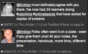 TweetDeck Handouts Conversation