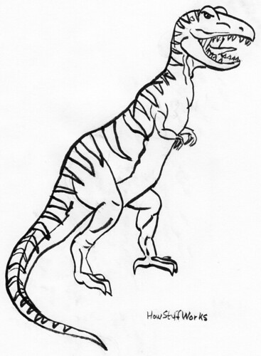 T-Rex using HowStuffWorks