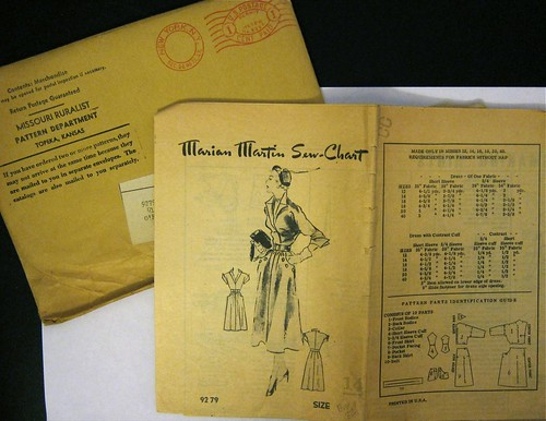 Vintage Marian Martin Mail Order Pattern 9279 Dress