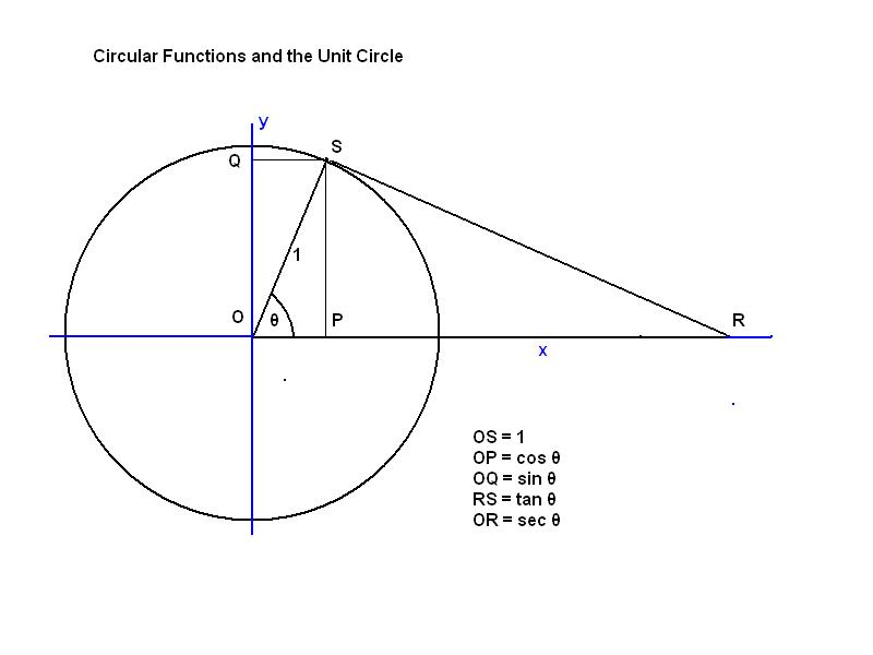 Why are trigonometric functions sometimes called circular