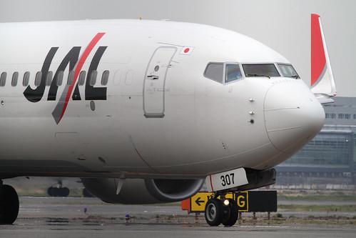 JAL B737-800(JA307J)