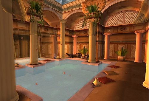 Garden of Dreams: Dream Scene: Roman Baths