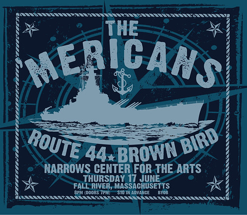 'Mericans 17 June 2010 Narrows Poster By Uncle Pete
