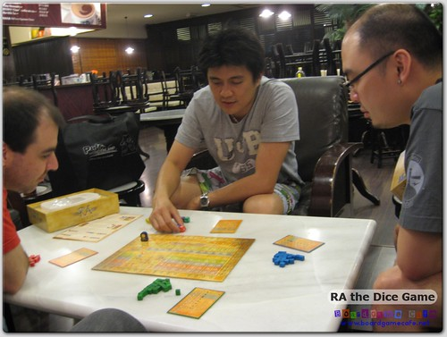 BGC Meetup - Ra the Dice Game