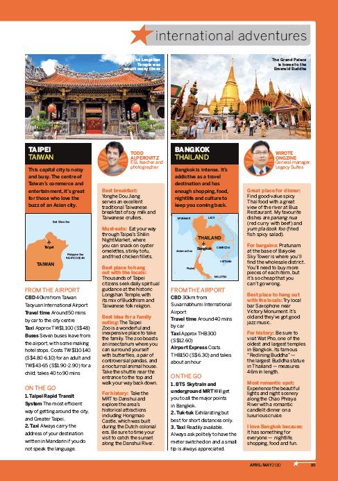 JetStar Asia Magazine