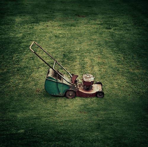 Vintage / Retro / Lawnmower / Grass por ►CubaGallery