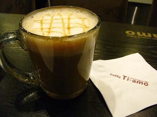 Caramel Macchiato at Caffe Ti Amo