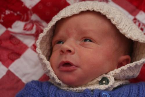 Sweet baby bonnet