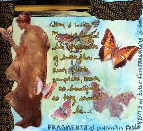 Fragments of Butterflies