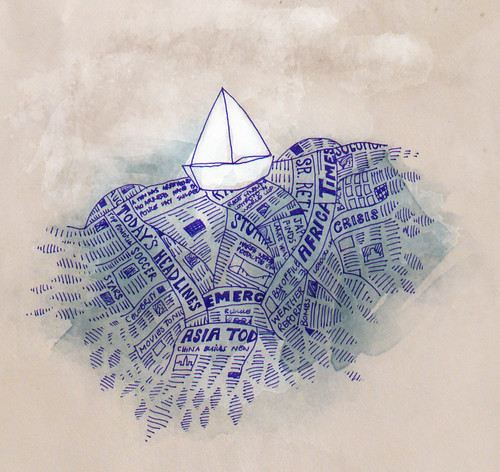 sailing on papers