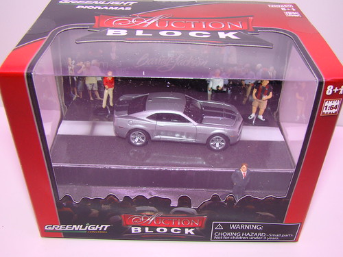 greenlight Auction Block Diorama (2)