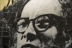 Isaac Asimov painted portrait _DDC5467