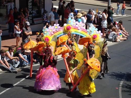 Fairies at the Armidale Autumn Festival Parade
