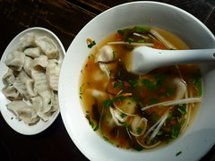 dumplings and soup