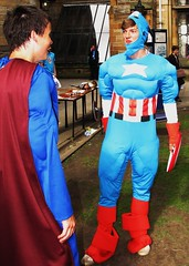 Superheroes on Freshers' Week