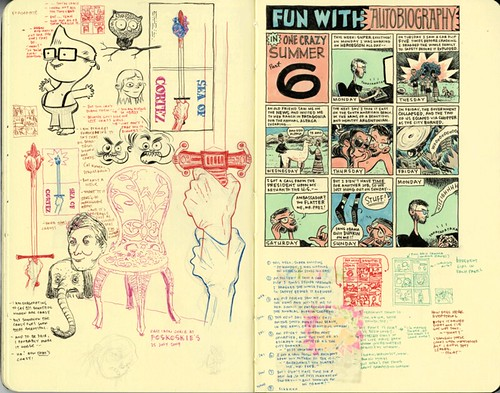 SKETCHBOOK SPREAD | Pages 88-89 by DHARBIN!.