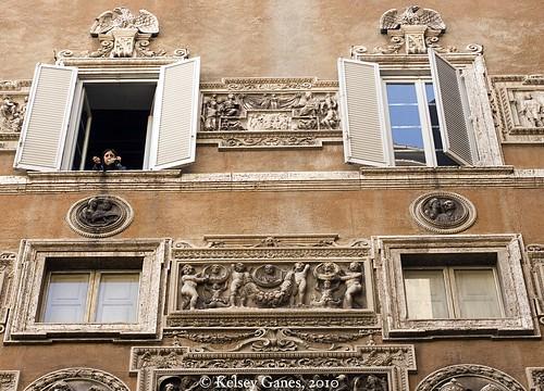 Palazzo Mattei - Windows