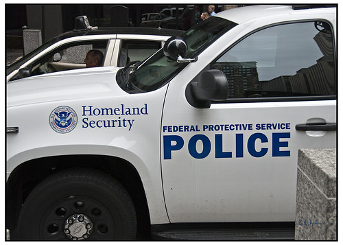 Homeland Security Federal Protective Service Police