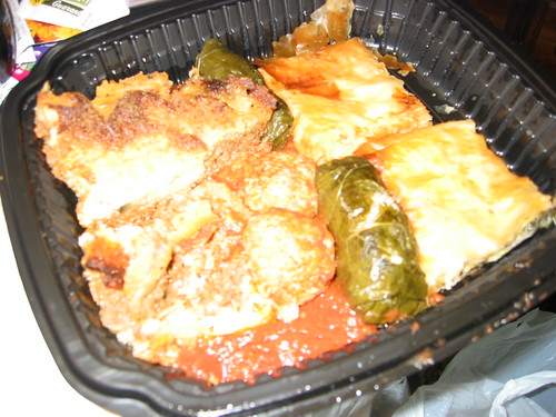 Sampler Greek Food