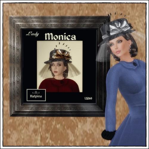 Hatpins - Lady Monica