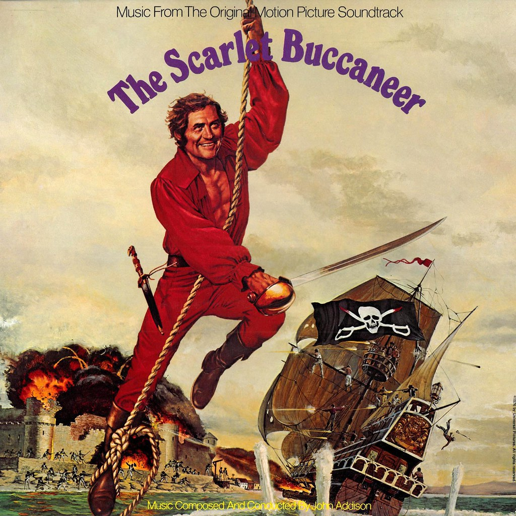 John Addison - The Scarlet Buccaneer