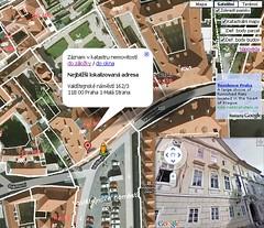 Katastr využívá map Google