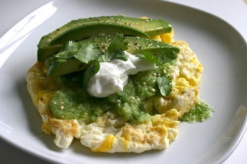 Huevos con Salsa Verde