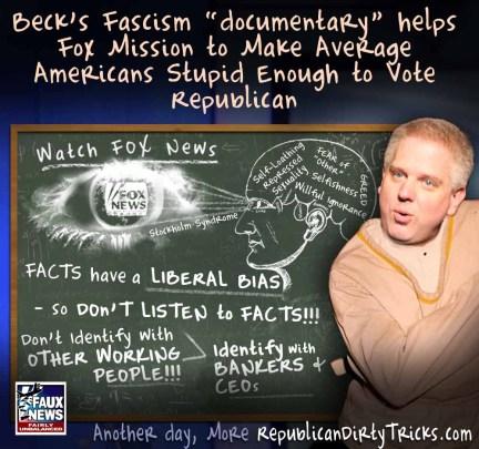 Glenn Beck Liberal Fascism Meme Widely Debunked Image