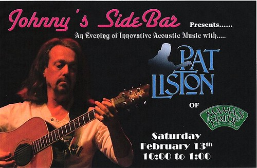Pat Liston at Sidebar0001