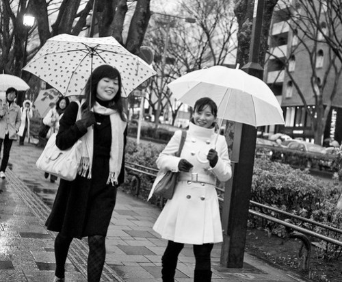 Raining in Tokyo