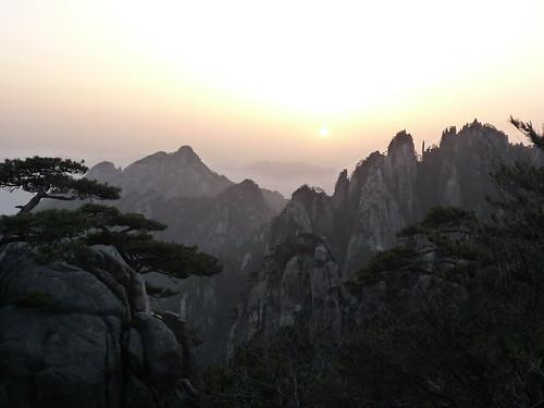 Sonnenaufgang, Huang Shan