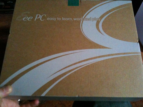 Asus Eee PC 1005 HA - box