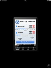 b-mobile 3G Speedtest