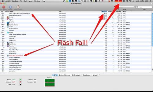 Why Steve Jobs hates flash