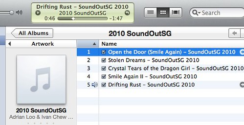 Coming Soon - 2010 SoundOutSG album