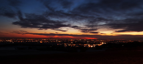 Sunset Over Horwich