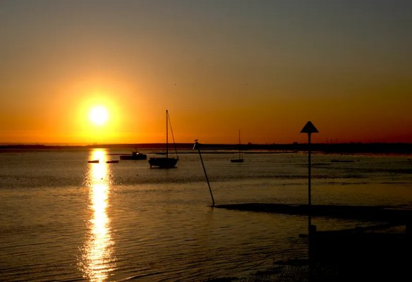 Old Leigh Sunset, Essex