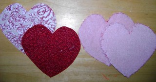 Heart Shaped Wash Cloths