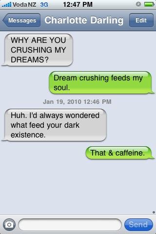 A conversation ...
