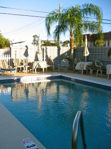 Island Breeze Motel Pool