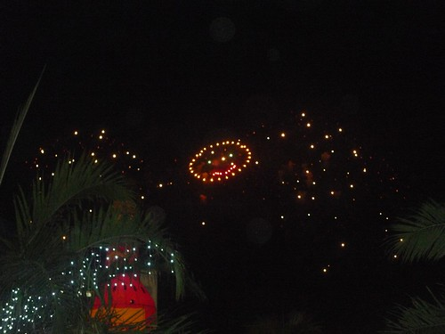 Mall of Asia pyrotechnics show