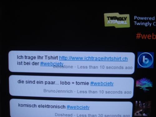 Webciety Twitterwall