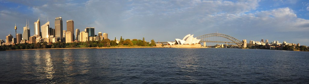 Panoramic photo from Lady Macquaries Point