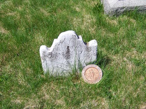 Revolutionary War veterans at Old Carlisle Cemetery (6/6)