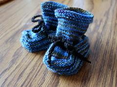 blue ocean booties
